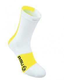 Agu Linea High Sock Hvid/Fluo