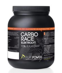 Pure Power Carbo Race Elektrolyt Appelsin 1,5 kg