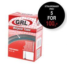 GRL Standard Cykelslange 700 x 20-25 Presta 60 mm 5 stk for 100 kr.