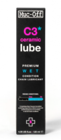MUC-OFF Wet lube - C3 Ceramic Kædeolie 120 ml