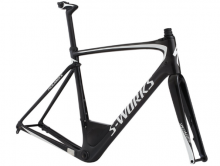 S-Works Roubaix Frameset CARBON / METALLIC WHITE SILVER